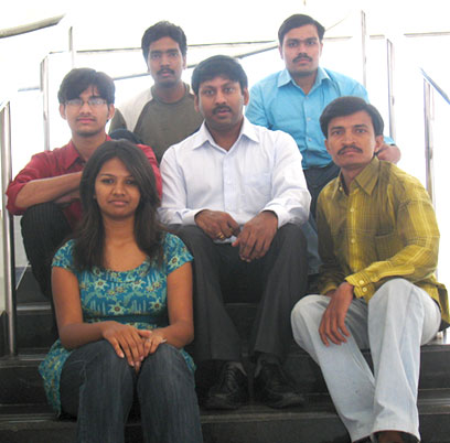 UMO 2008 Working Team, Hyderabad