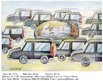 international cartoon competitions
